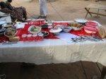3. Christmas table