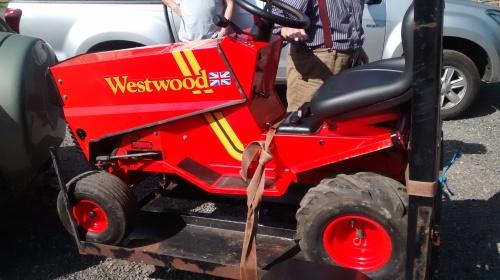 Mini tractor for diema.